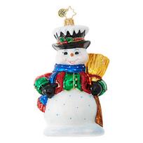 Christopher_Radko_Dickensian_Snowman_Ornament