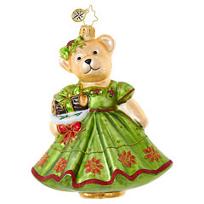 Christopher_Radko_Yule_Log_Muffy_Ornament
