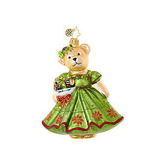 Christopher Radko Yule Log Muffy Ornament