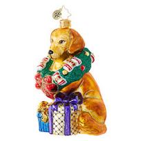 Christopher_Radko_The_Retriever_Gets_It!_Ornament