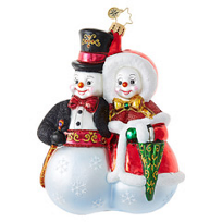 Christopher_Radko_Snowball_Stroll_Ornament