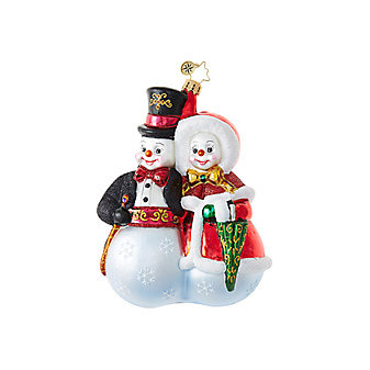 Christopher Radko Snowball Stroll Ornament