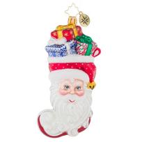 christopher_radko_stuffed_santa_ornament