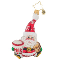 christopher_radko_snack_time_santa_little_gem