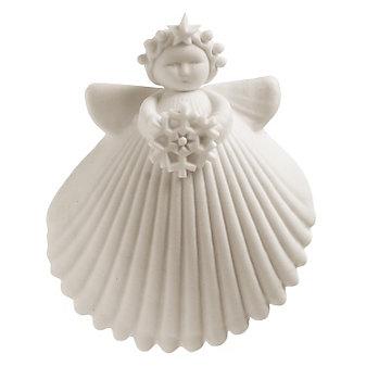 "Margaret Furlong Snowflake Angel, 2"""