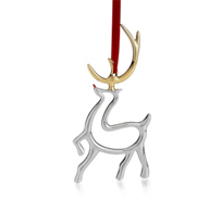 Nambe_Reindeer_Ornament