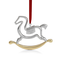 Nambe_Baby's_First_Rocking_Horse_Ornament