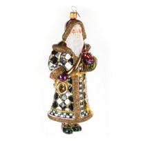 MacKenzie-Childs_North_Winds_Santa_Glass_Ornament