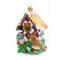 MacKenzie-Childs_Holly_Perch_House_Glass_Ornament
