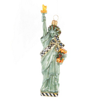 MacKenzie-Childs_Statue_of_Liberty_Glass_Ornament