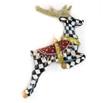MacKenzie-Childs_Prancer_Glass_Ornament