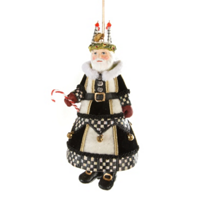 MacKenzie-Childs_Noel_Advent_Santa_Ornament