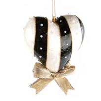 mackenzie-childs_black_&_white_heart_ornament_-_large
