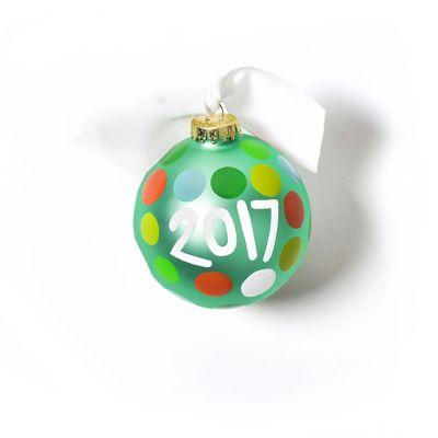 coton colors 2017 glass ornament