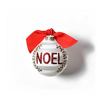 coton colors noel berry glass ornament