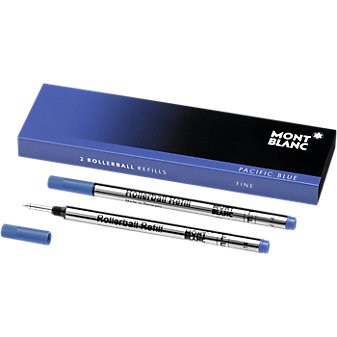 Montblanc Rollerball Refill-Fine, Pacific Blue