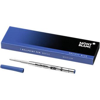 Montblanc Ballpoint Refill-Medium, Pacific Blue