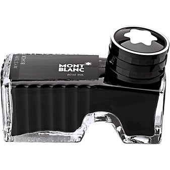 Montblanc Ink Bottle, Mystery Black