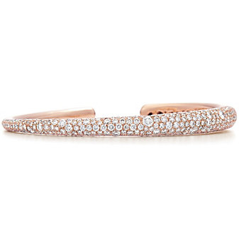 Kwiat 18K Rose Gold Cobblestone Diamond Bracelet