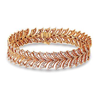 Stephen Webster 18K Rose Gold Diamond Magnipheasant Bracelet