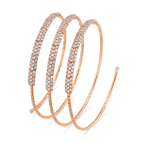 Mattia_Cielo_18K_Rose_Gold_Diamond_Three_Row_Coil_Bracelet________