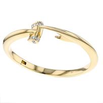 18k_yellow_gold_diamond_hammerhead_beveled_bangle_bracelet