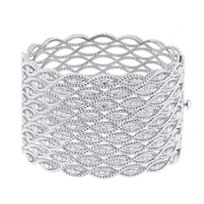 roberto_coin_18k_white_gold_diamond_9_row_barocco_cuff_bracelet