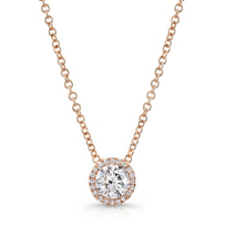 18K_Rose_Gold_Forevermark_Round_Diamond_Halo_Pendant
