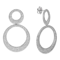 Roberto_Coin_18K_White_Gold_Sclare_Diamond_Drop_Earrings