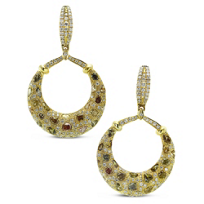 18K_Yellow_Gold_Brown_and_White_Diamond_Drop_Earrings