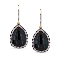 18K_Rose_Gold_Black_Rosecut_and_Round_Diamond_Drop_Earrings