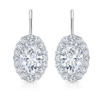 18K_White_Gold_Oval_&_Round_Diamond_Halo_Earrings