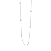 18K_White_Gold_Marquise,_Round_and_Pear_Shape_Diamond_Station_Necklace