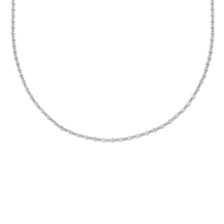 18K_White_Gold_Petite_Diamond_Necklace,_16.5""