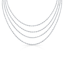 18K_White_Gold_Round_Diamond_Station_Necklace,_90""