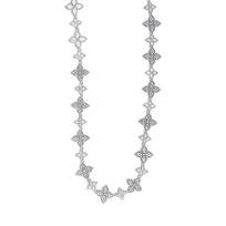 Roberto_Coin_18K_White_Gold_Princess_Flower_Diamond_Necklace,_17.5""