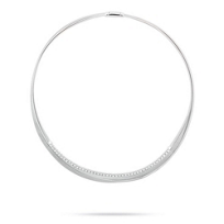 "marco_bicego_18k_white_gold_diamond_3_row_masai_collar_necklace,_18"""