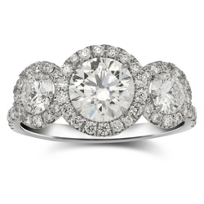 18K_White_Gold_Forevermark_Three_Diamond_and_Diamond_Halo_Ring