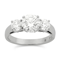 18K_White_Gold_Three_Round_Forevermark_Diamond_Ring,_1.99cttw