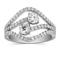 18K_White_Gold_Round_Forevermark_Diamond_Wave_Ring