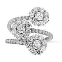18K_White_Gold_Forevermark_Diamond_Three_Flower_Ring