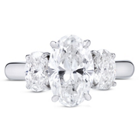 18K_White_Gold_Three_Stone_Oval_Diamond_Ring