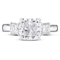 18K_White_Gold_Three_Stone_Cushion_Ring