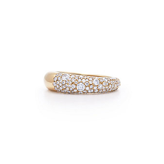 Kwiat 18K Rose Gold Cobblestone Diamond Ring