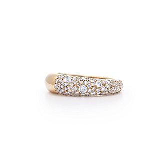 Kwiat 18K Rose Gold Cobblestone Diamond Ring