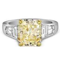 18K_Yellow_Gold_&_Platinum_Fancy_Light_Yellow_Radiant_Diamond_Ring