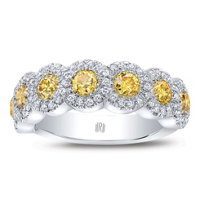 Rahaminov_Platinum_Yellow_and_White_Diamond_Halo_Ring