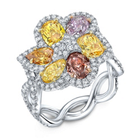 Platinum_Fancy_Color_Diamond_Flower_Ring