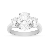 18K_White_Gold_Oval_Diamond_3_Stone_Ring,_4.32cttw