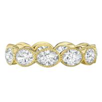 18k_yellow_gold_oval_diamond_eternity_band_with_milgrain_edging,_2.94cttw